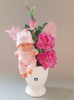 Kız Bebek Arajmanı-Seramik