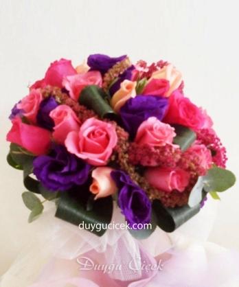 Fuşya Mor Gelin Çiçeği